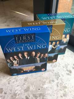 West Wing Season 1,2 and 3