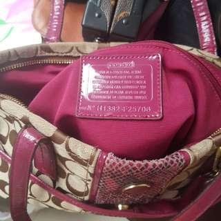 Preloved Original Coach Shoulder bag