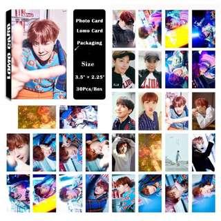 BTS J-Hope Lomo Cards