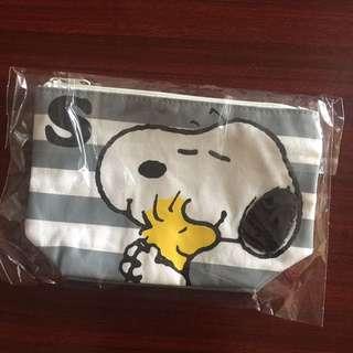 全新正版Snoopy化妝袋 筆袋