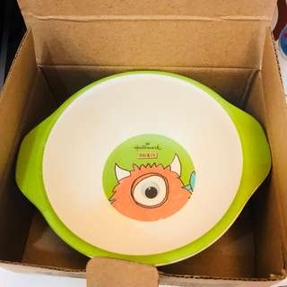 Hallmark。塑膠碗。僅有一個。大眼怪
