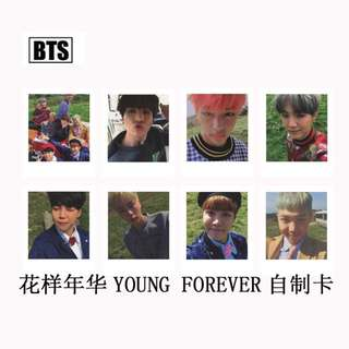 BTS Young Forever Unofficial Photocard