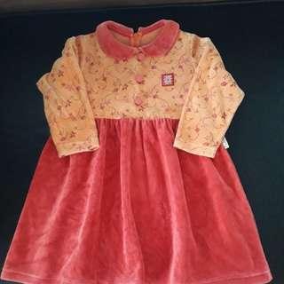 百貨專櫃 小女童洋裝 4-5T