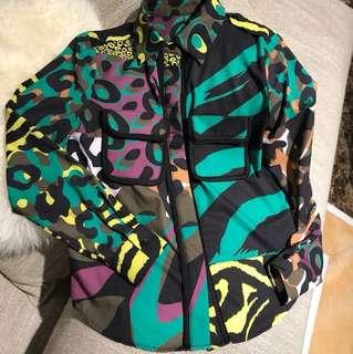 Pattern Blouse Top