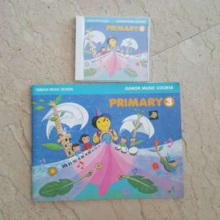 Yamaha junior course primary 3 book and cd