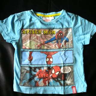 T Shirt spiderman - 3 years