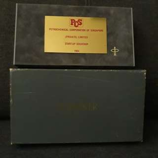 Vintage parker pen box