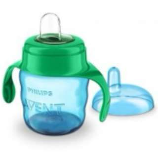 Philips Avent Easy Sip Spout Cup with Handle 200 ml (Green Blue)