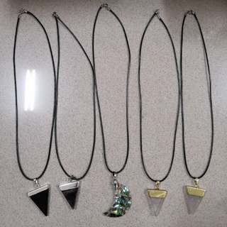 Tumblr Crystal Cut Necklaces