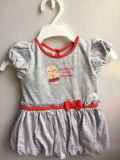 HUSH HUSH Gray Dress