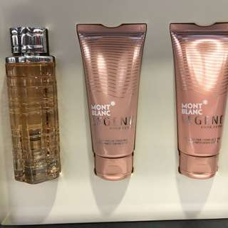 Mont Blanc EDP 30ml + body lotion 100ml + shower gel 100ml