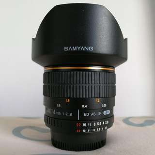 Samyang 14mm F2.8 Nikon Mount