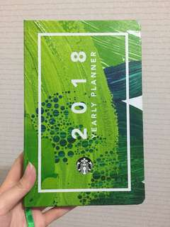 Starbucks 2018 Yearly Planner