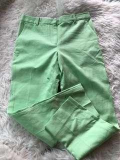 New Phillip Lim 3.1 apple green pants
