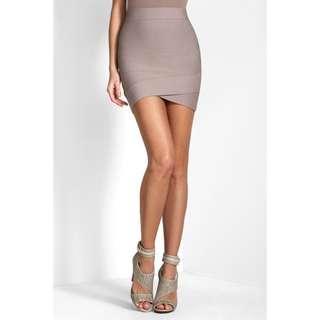 BCBG Maxazria Silvie Bandage Mini Skirt xxs fits size 6