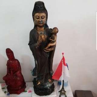 Standing Bronze Buddha Statue