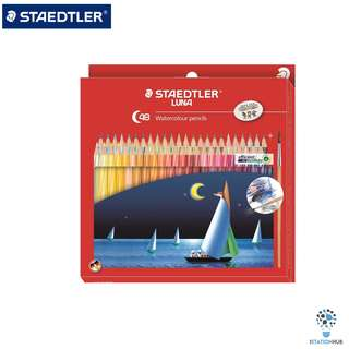 Staedtler Luna Watercolour Pencil | 48 Color Pencils [WS-ST-61-SET37-02-ID]