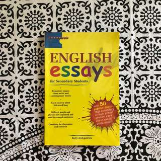 English Essays Reference Book