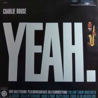 Brand New/Sealed - Charlie Rouse - Yeah! (Classic Records Audiophile 180g Vinyl LP)
