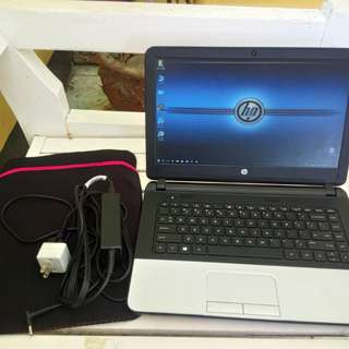 HP G1 Core i5 4thgen 750gb hdd 4gb ram 3hours battery