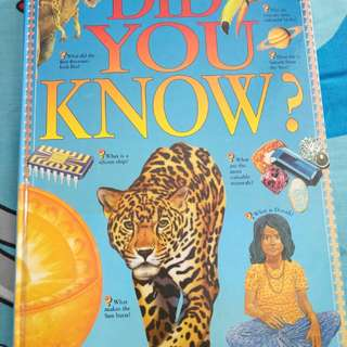 Did You Know? Information Book