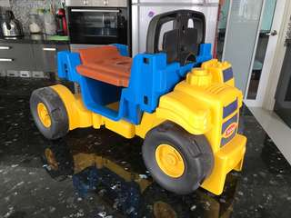 Tonka Truck Scoot n Scoop Ride-on Walker Toy