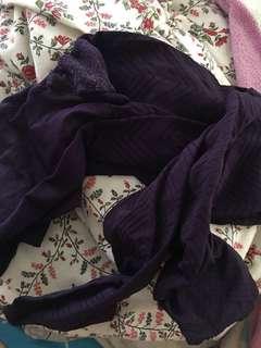 深紫 絲襪  socks 🧦 襪 褲襪 襪褲