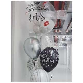 Customised Birthday Balloon Bouquet