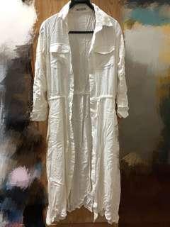 襯衫式長洋裝