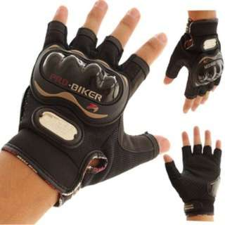 Free Shipping Pro-bikers Half Finger Gloves