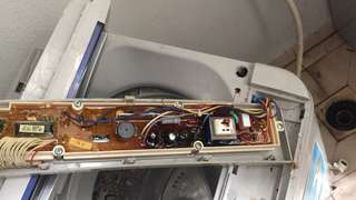 Washer and spinner repairing