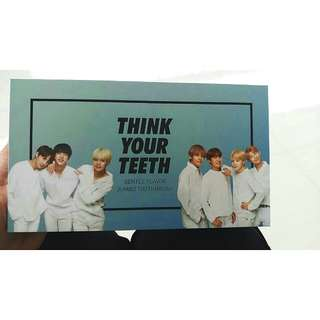 BTS × VT Think Your Teeth