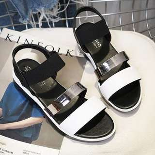For Pre Order: Metalic Strap Sandals