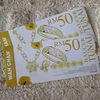 Wah Chan RM50 cash voucher