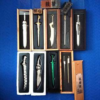 BN Assorted Comic Sword Collectibles