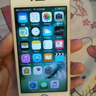 iPhone 5S 32GB  4GLTE  Silver fullset