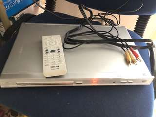 Philips DVD Player with box