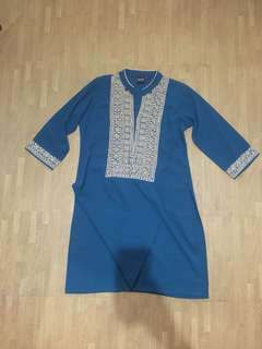 Soch Indian Top with Gold Embroidery