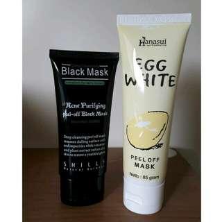 Black Mask + Egg White Peel Off Mask