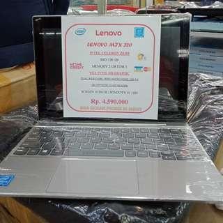Kredit notebook lenovo MJX 320(touchcreen) bisa jadi tablet