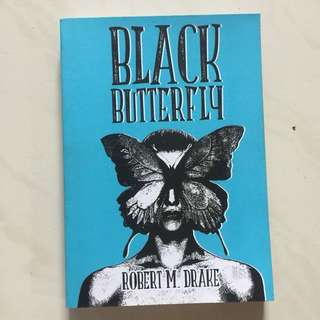 (Brand new) Black Butterly by R.M. Drake