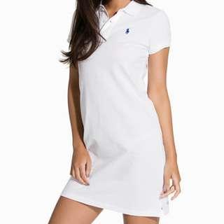 Polo Ralph Lauren Short Dress size M 100% Cotton Polo Dress