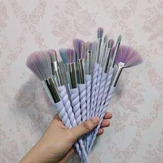 Unicorn Makeup Brushes 10pcs
