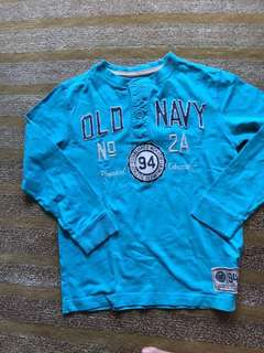 Long sleeve shirt boys 6-7 yo