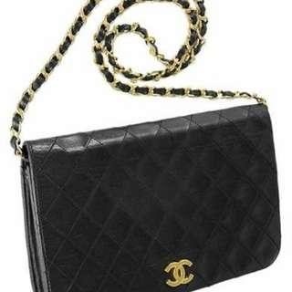 Chanel vintage clutch handbag
