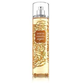 🚚 Bath and Body Works - WARM VANILLA SUGAR Fine Fragrance Mist - 236 mL