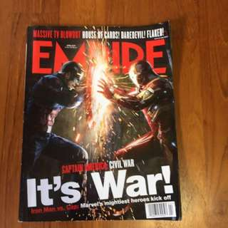 Empire Magazine: Captain America: Civil War Issue