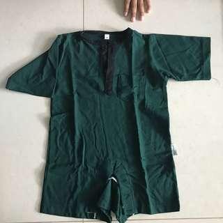Baju kurung romper