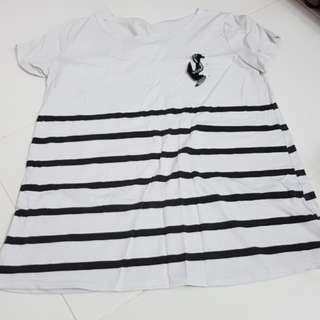 Maternity White T-shirt