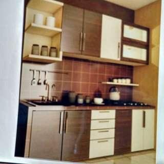 Promo tanpa dp kitchen set hanya bayar admin 199 rb